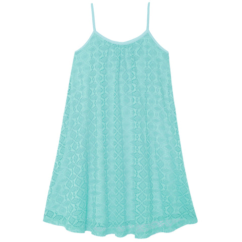 Crochet Swing Dress - Island Paradise