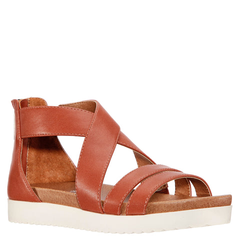 Crossover Sandal - Light Tan