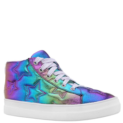 Quilted Star Metallic Sneaker - Multi