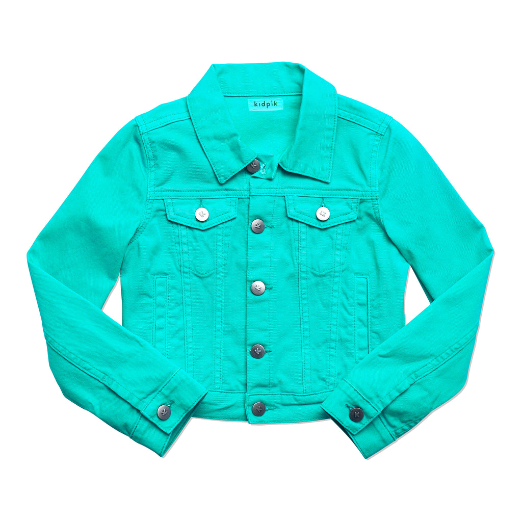 Colored Denim Jacket