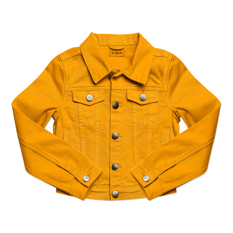 Colored Denim Jacket - Mango Mojito
