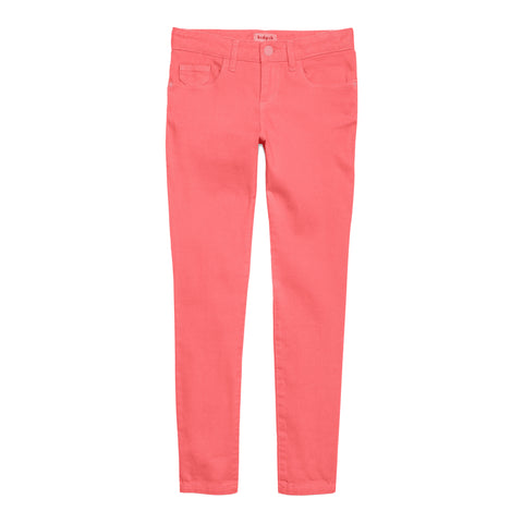 Colored Skinny Pant - Calypso Coral