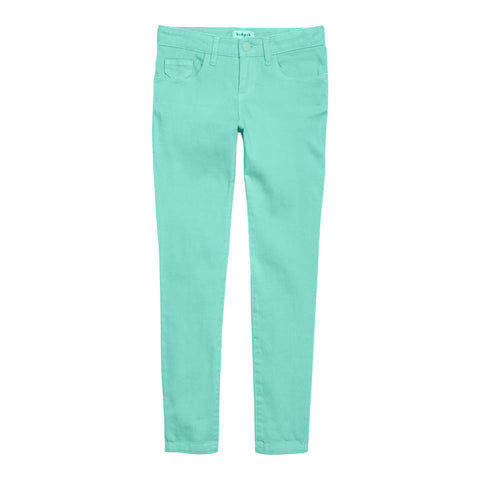 Colored Skinny Pant - Jadite