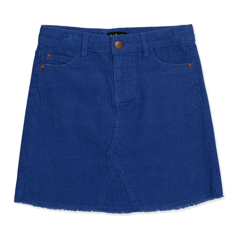 Cord 5 Pocket Skirt - Turkish Sea