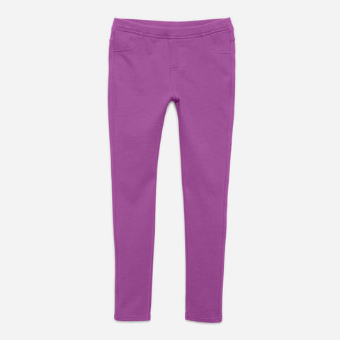 Cozy Knit Jegging - Dewberry