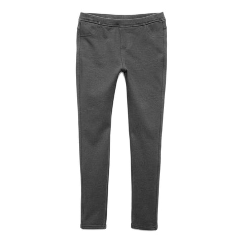 Cozy Knit Jegging - Charcoal