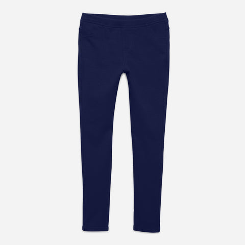 Cozy Knit Jegging - Kidpik Navy