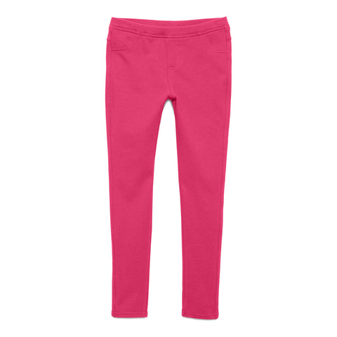 Cozy Knit Jegging - Pink Peacock