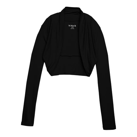 Cozy Shrug Cardigan - Black