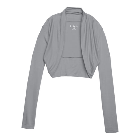 Cozy Shrug Cardigan - Heather Grey