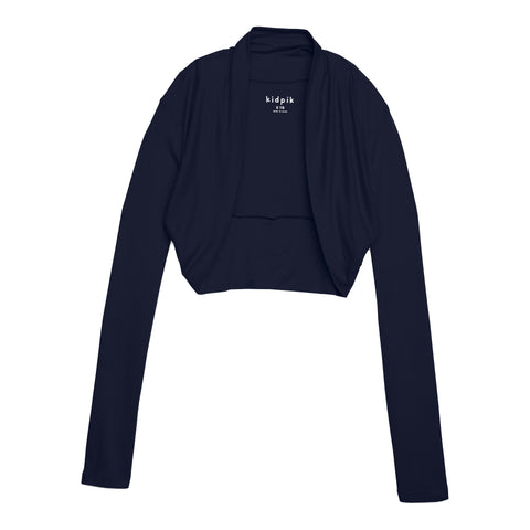 Cozy Shrug Cardigan - Kidpik Navy