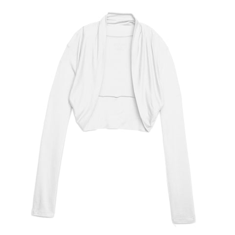 Cozy Shrug Cardigan - White