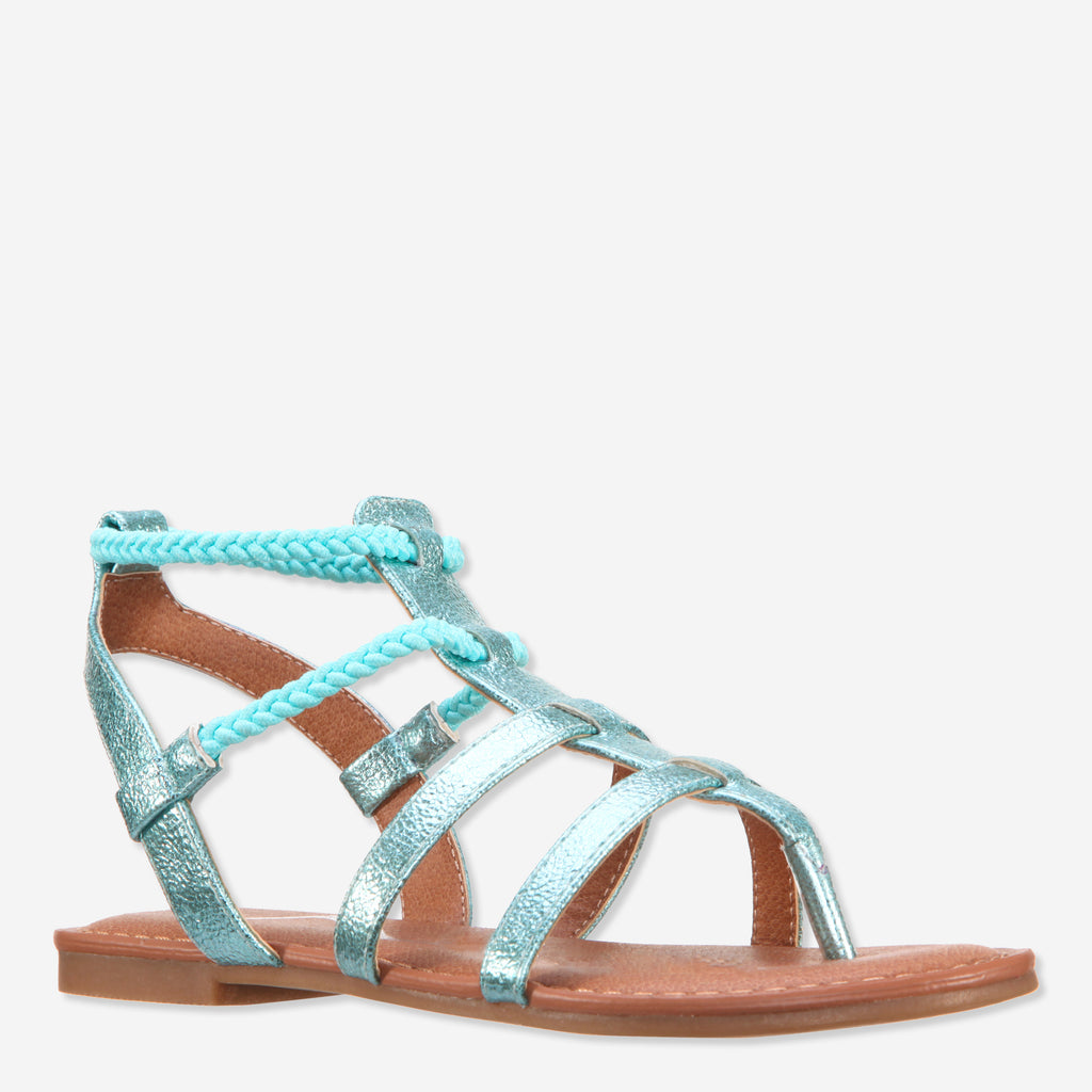 Crinkle Metallic Gladiator