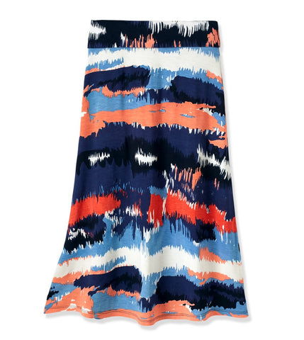 Desert Maxi Skirt - Multi