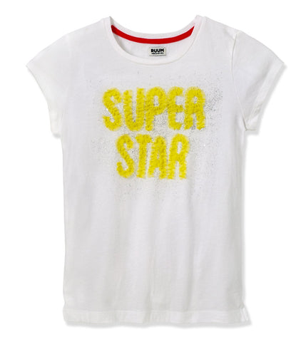 Super Star Tee - White