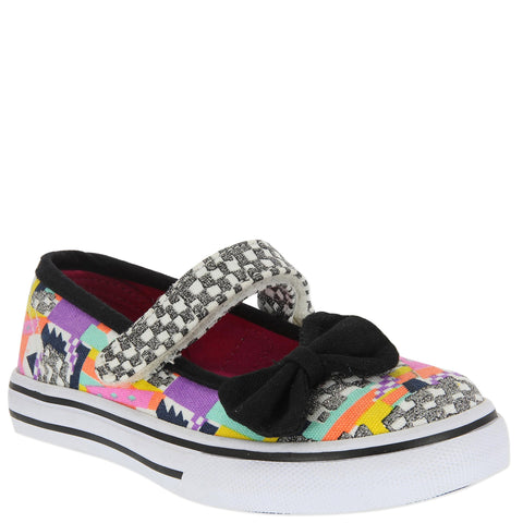 Geo Printed Maryjane - Multi