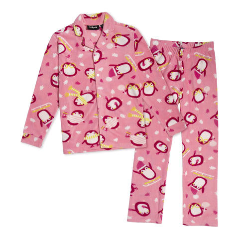 Kids Penguin Pjs - Rosebloom