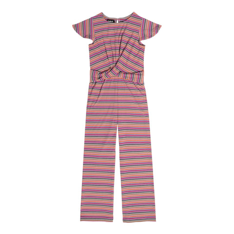 Multi Stripe Jumpsuit - Multi