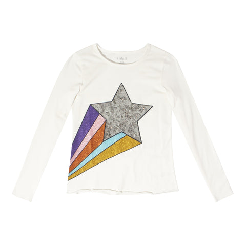 Cosmic Star Tee - Kidpik Cream