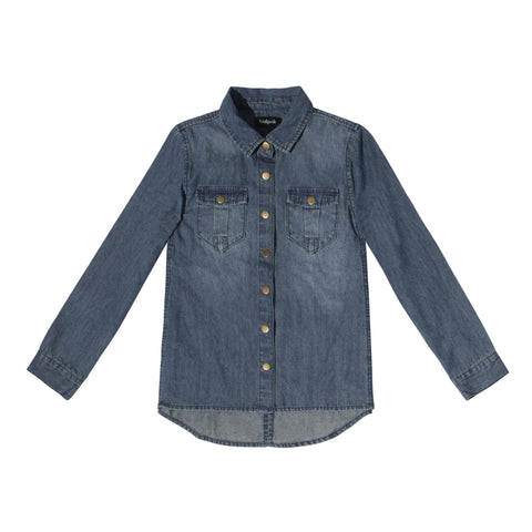 Classic Denim Shirt - Paprika Wash