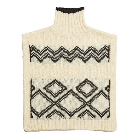 Poncho Sweater - New Cream