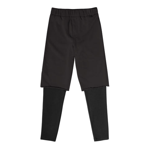 Double Layered Short - Black