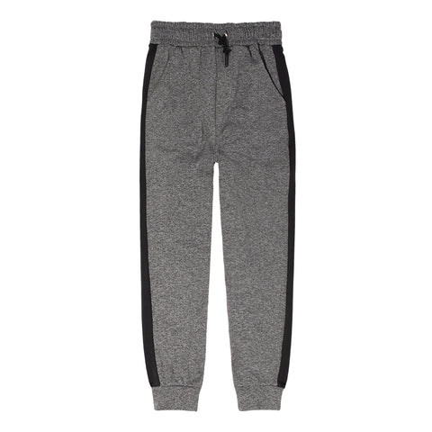 Charcoal Tricot Jogger - Charcoal Heather