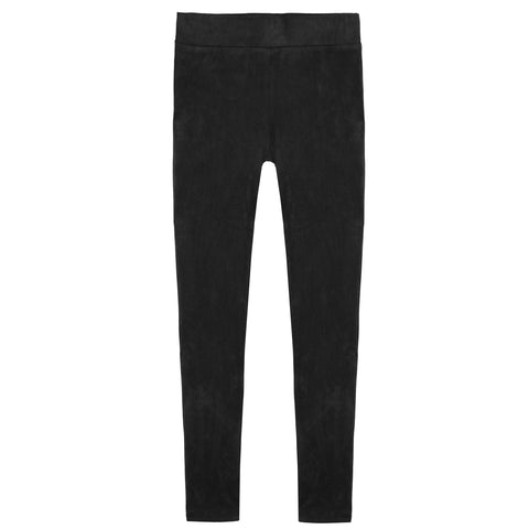 Suede Legging - Black