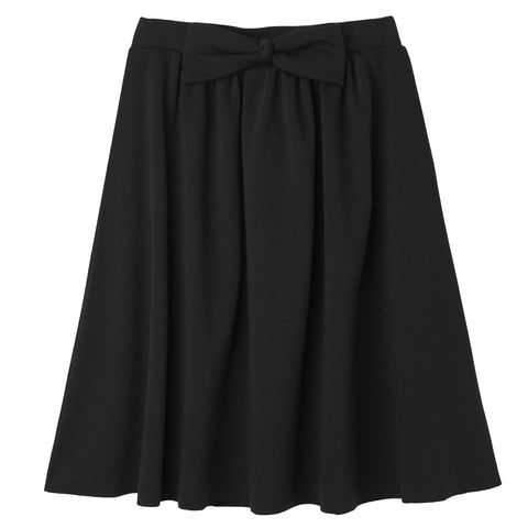 Bow Party Skirt - Black