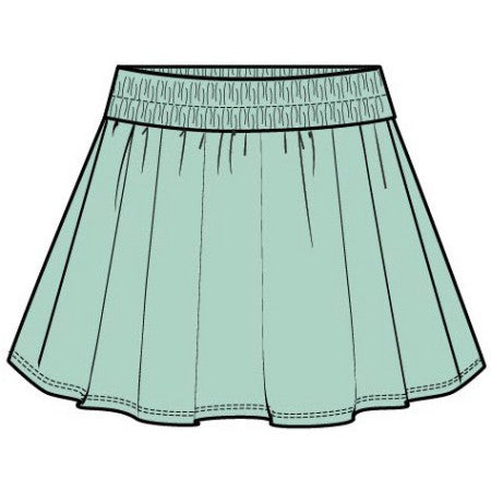 Active Twirl Skirt - Ocean Wave