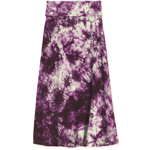Tie Dye Skirt - Dewberry