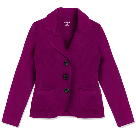 Ponte Jacket - Purple Potion