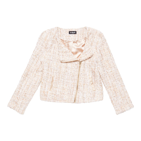 Boucle Jacket - Kidpik Cream