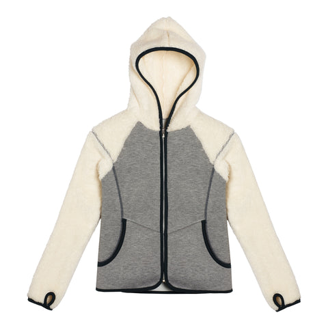 Scuba Zip Up - Medium Heather Grey