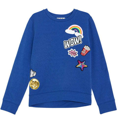 Emoji Sweatshirt - Deep Royal