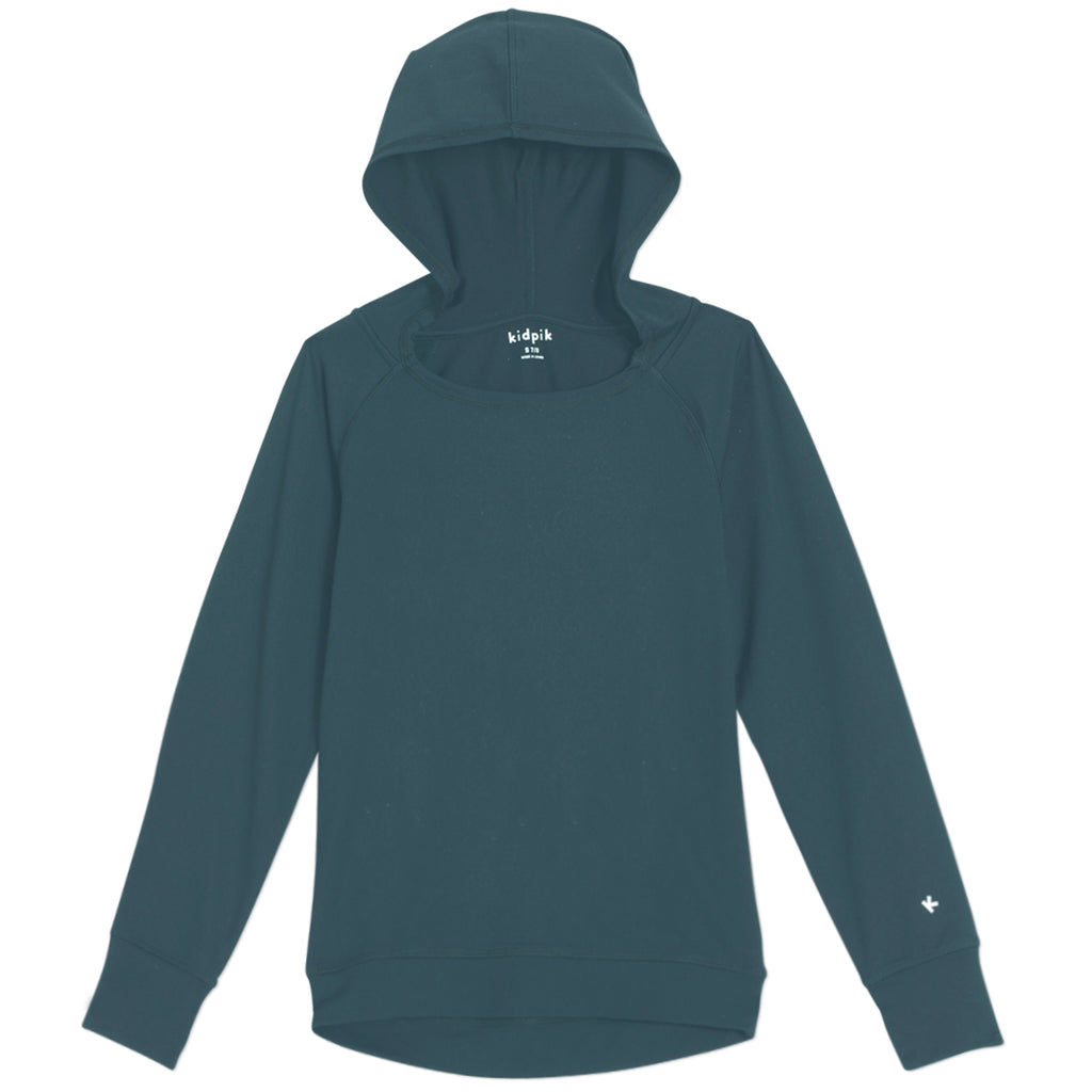 Active Hooded Top - Dewberry