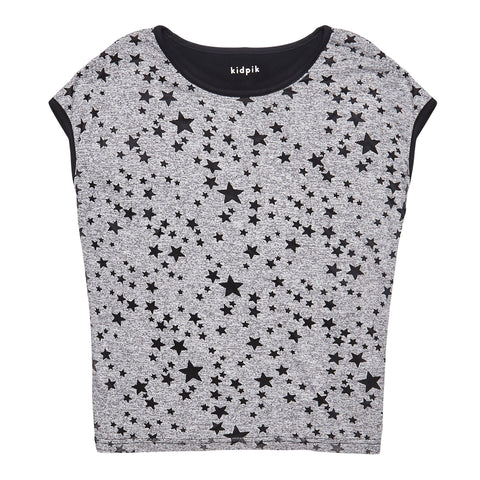 Star Tee - Medium Heather Grey