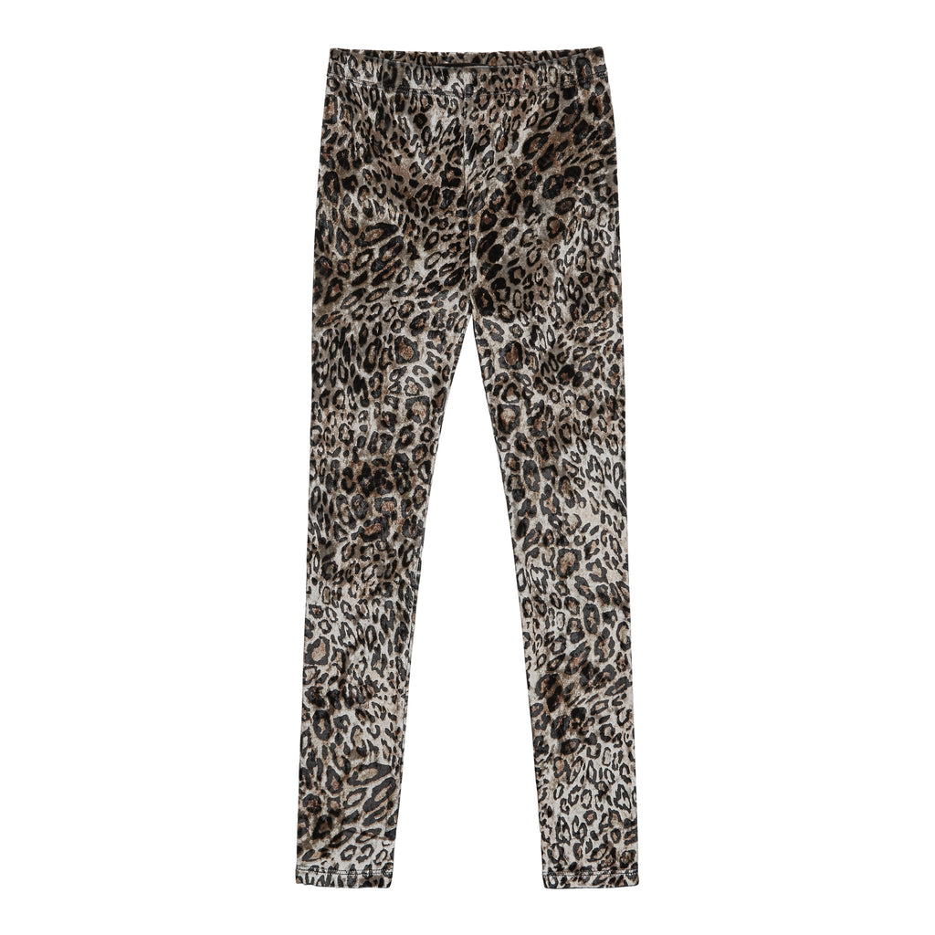 Leopard Velour Legging