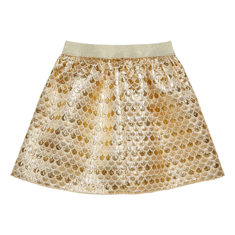 Mermaid Skirt - Gold