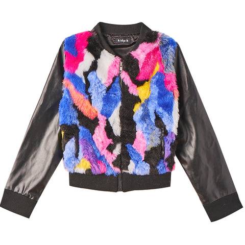 Fun Fur Jacket - Multi
