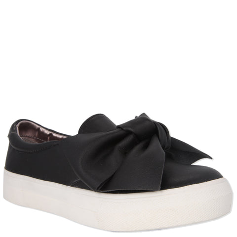 Bow-Tiful  Sneaker - Black
