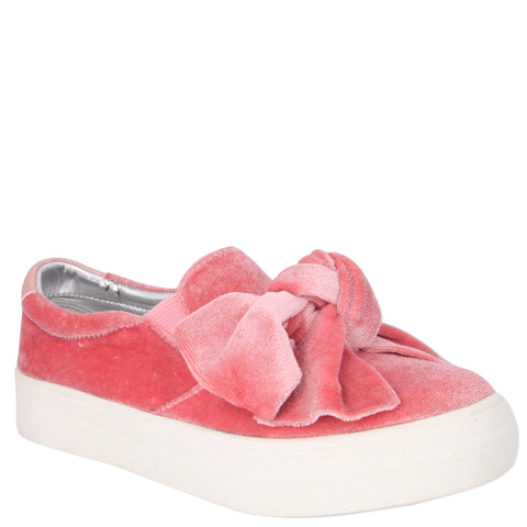 Bow-Tiful  Sneaker - Blush