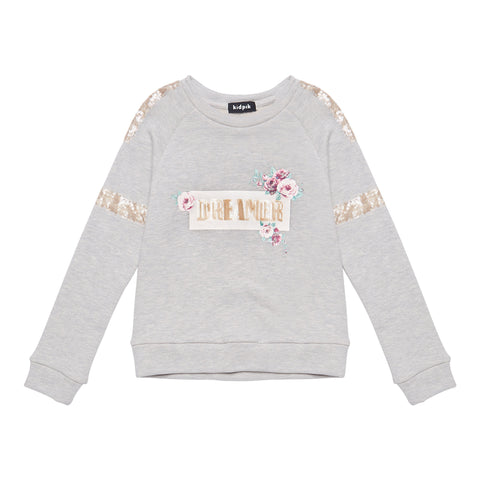 Dreamer Sweatshirt - Medium Heather Grey