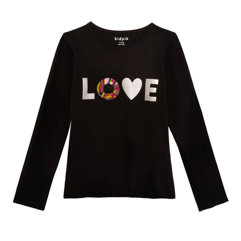 Resin Love Tee - Black