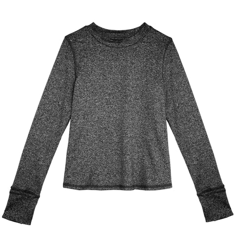 Active Crew - Charcoal Heather