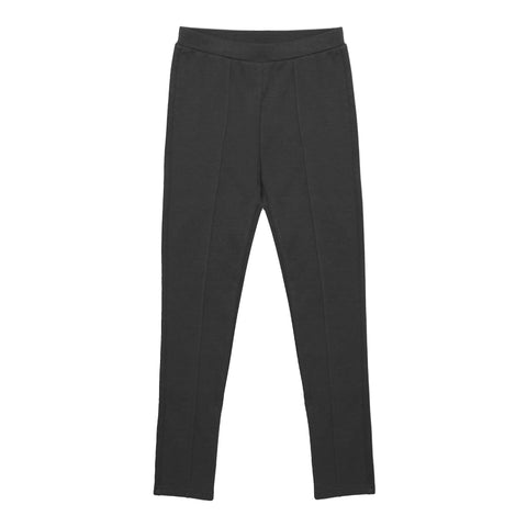 Seamed Ponte Pant - Iron Gate