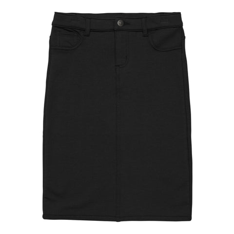 5 Pocket Knit Skirt - Black