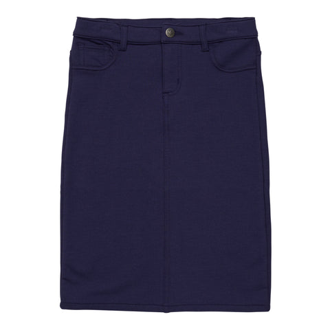 5 Pocket Knit Skirt - Kidpik Navy