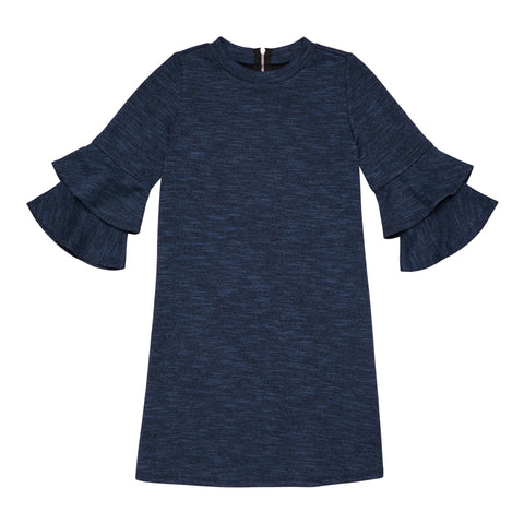 Double Bell Sleeve Dress - Limoges