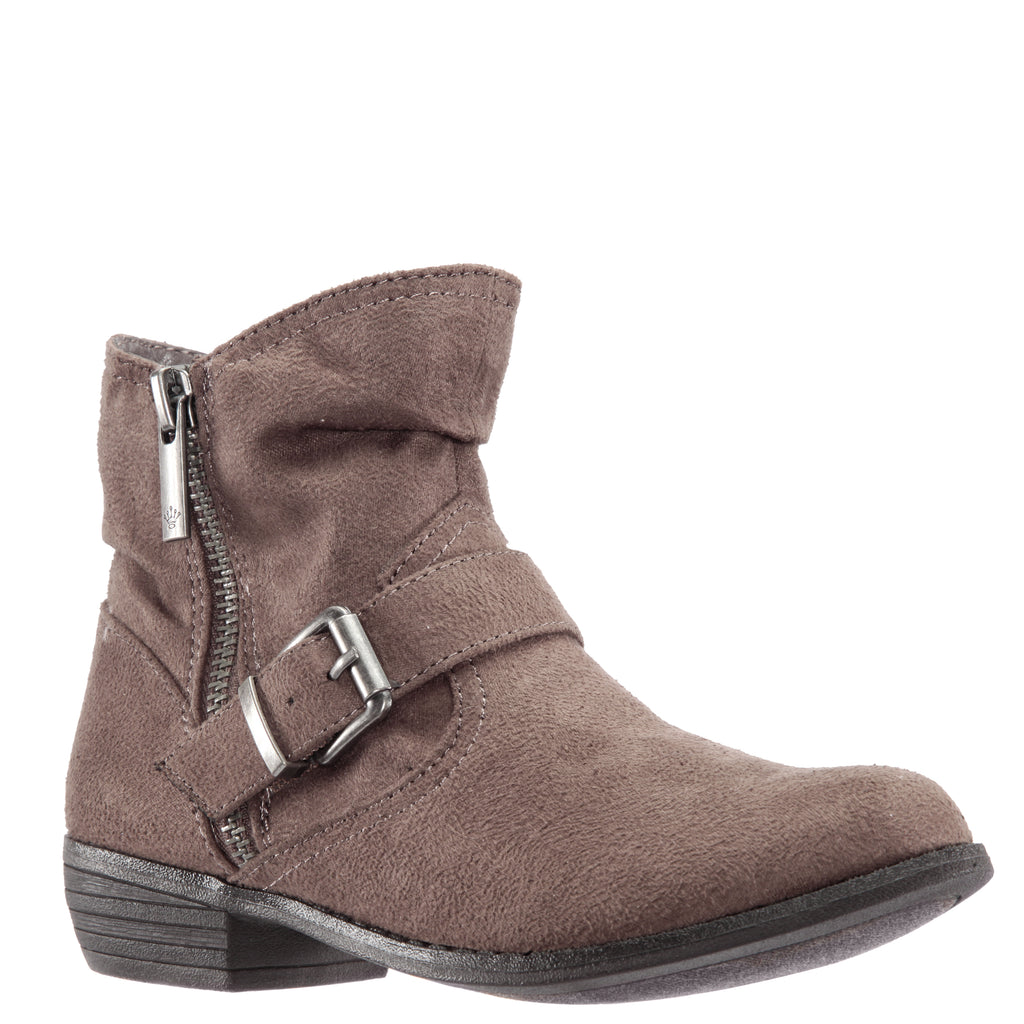 Burnished Buckle Boot